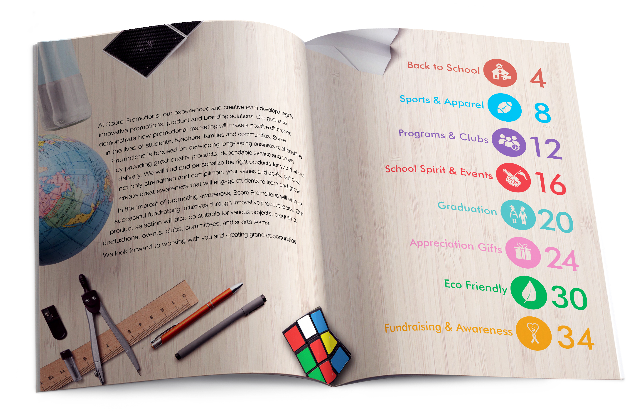 School Essentials Table of Contents
