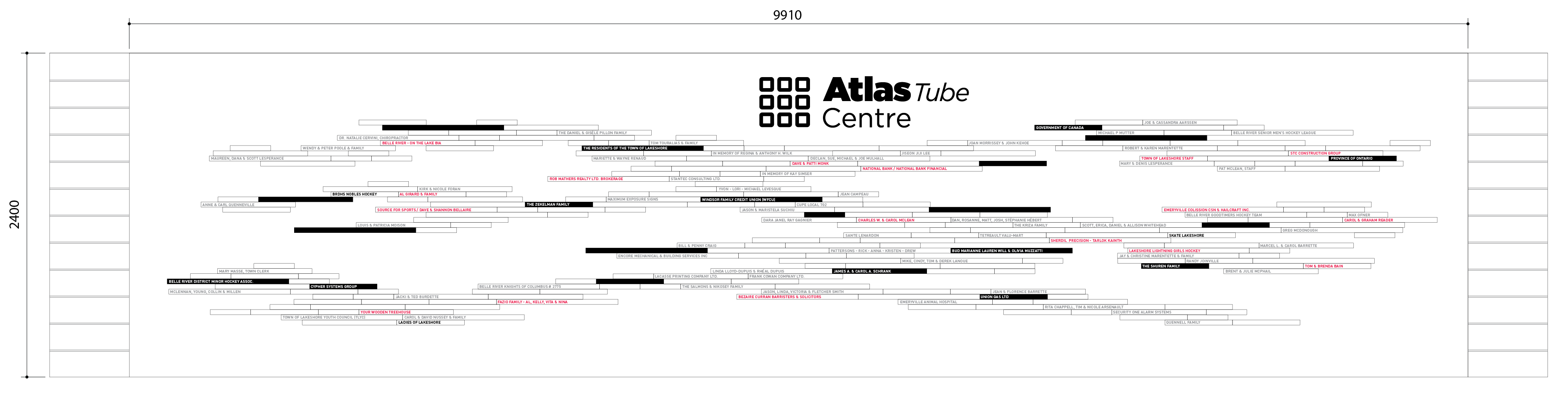Atlas Tube Center Detail