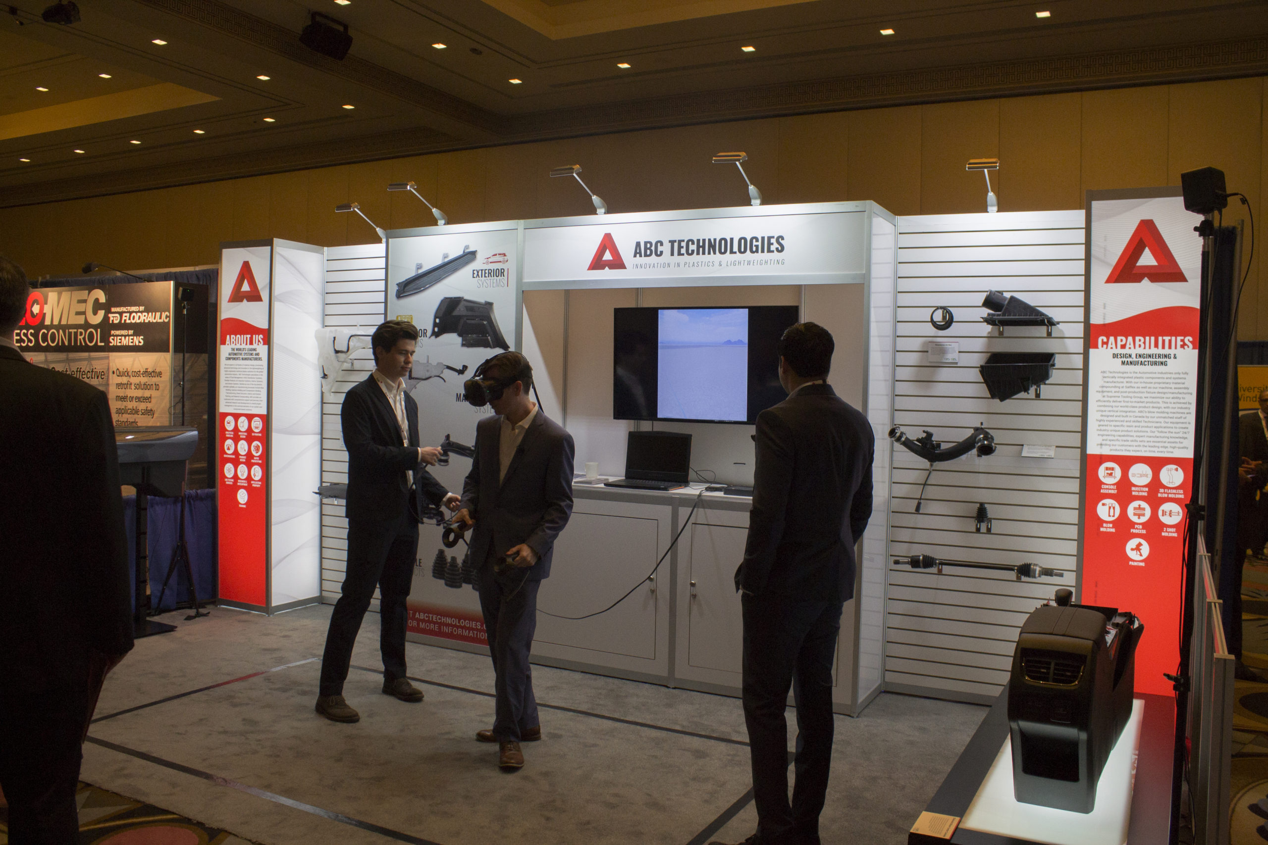 Virtual Reality at the ABC Tech APMA Booth